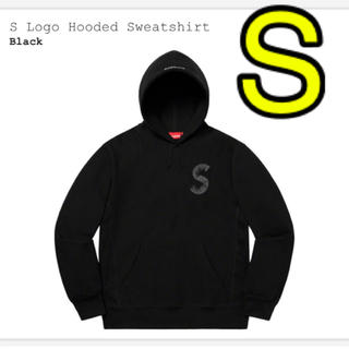 Supreme - supreme s logo hooded  sweatshirt 黒 S