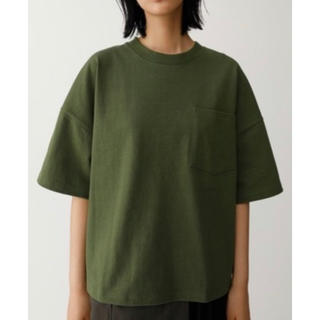 moussy - MOUSSY マウジーOVER SILHOUETTE Tシャツカーキ4,928円