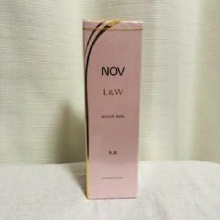 NOV - NOV ノブL&W エンリッチミルク 乳液