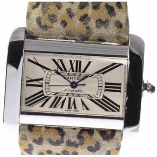 カルティエ(Cartier)の☆美品 カルティエ タンクディバンLM  W6300755 メンズ 【中古】(腕時計(アナログ))