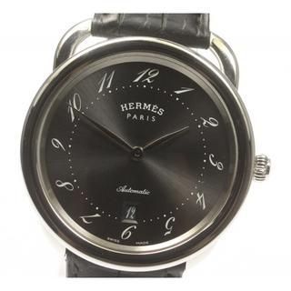 Hermes - ☆良品 エルメス アルソー デイト AR7.710 自動巻き メンズ 【中古】