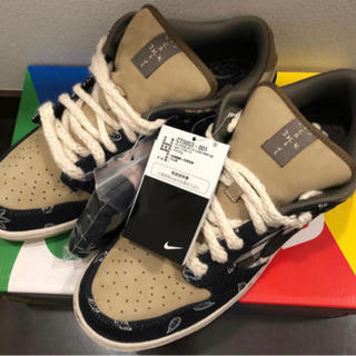 ナイキ(NIKE)の26.5cm Travis Scott x Nike SB Dunk Low (スニーカー)
