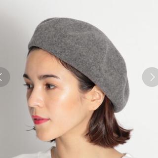 グローバルワーク(GLOBAL WORK)のウールベレー帽 GLOBAL WORK(ハンチング/ベレー帽)