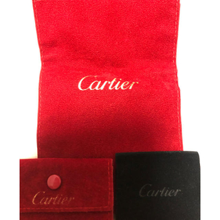 カルティエ(Cartier)のカルティエ  アクセサリーケース 三点セット(小物入れ)