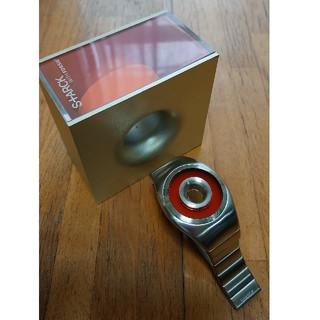 フォッシル(FOSSIL)の激レア 希少 フィリップスタルク ウィズ フォッシル 腕時計(金属ベルト)