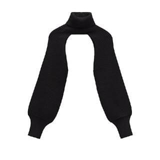 ZARA - 2020 ZARA ハイネック ニット袖のセーター