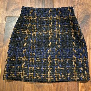 スライ(SLY)のSLY  ツイードスカート(ミニスカート)