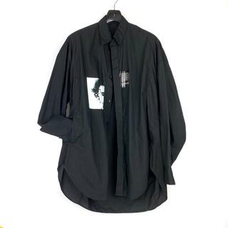 ユリウス(JULIUS)の4万 JULIUS 2 プリントドロップショルダー  シャツ ジャケット(シャツ)