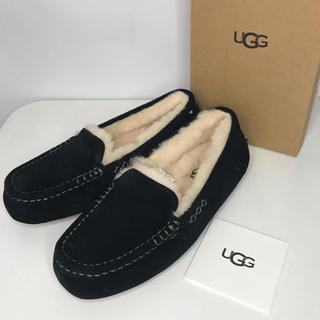 UGG - UGG アグ モカシン ANSLEY アンスリー ブラック 黒 24cm
