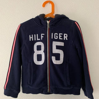 トミーヒルフィガー(TOMMY HILFIGER)のトミーヒルフィガー キッズ ボアパーカー ジャケット 4T 100 110(ジャケット/上着)