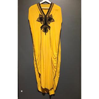 サンタモニカ(Santa Monica)のエスニックデザインヴィンテージドレス(ロングワンピース/マキシワンピース)