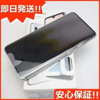 サムスン(SAMSUNG)の新品 SC-02M ホワイト スマホ 白ロム(スマートフォン本体)
