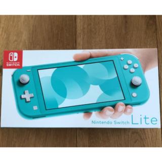 Nintendo Switch - 新品未使用Nintendo Switch Lite任天堂スイッチライトターコイズ
