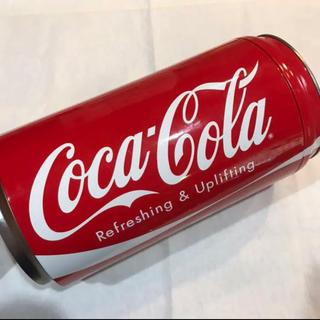 コカコーラ(コカ・コーラ)のコカコーラ Coca-Cola ブリキ缶 ケース 小物 観葉植物入れ インテリア(小物入れ)