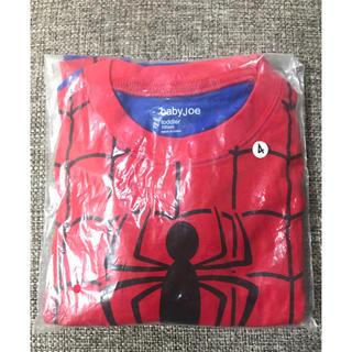 新品 スパイダーマン パジャマ セットアップ 100cm ハロウィン コスプレ