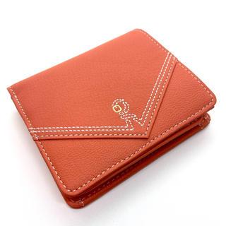 ロベルタディカメリーノ(ROBERTA DI CAMERINO)の新品未使用 Roberta di camerino オレンジ 折り財布(財布)