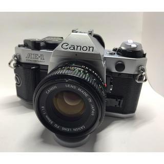 キヤノン(Canon)のキヤノンAE-1P(レンズセット)(フィルムカメラ)