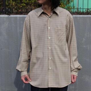 1LDK SELECT - AURALEE Super Light Wool Check Shirts 5