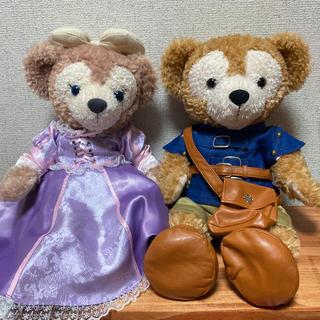 ディズニー(Disney)のダッフィー  シェリーメイ ラプンツェル ユージーンコスチューム付きぬいぐるみ(ぬいぐるみ)