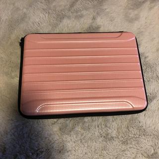 ギャラクシー(Galaxy)のMac ケース ピンク ハードケース(PC周辺機器)