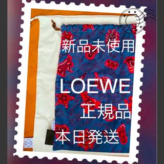 ロエベ(LOEWE)のLOEWE バッグインバッグ 巾着 ペイズリー 新品未使用(その他)