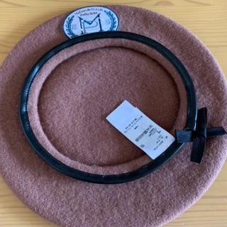 メゾンドフルール(Maison de FLEUR)のyurin様専用canone アップリケベレー(ハンチング/ベレー帽)
