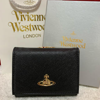 Vivienne Westwood - ヴィヴィアン 財布 三つ折り Vivienne Westwood ブラック