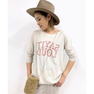 L'Appartement DEUXIEME CLASSE - AP STUDIO SAY IT LOUD Tシャツ☆新品未使用