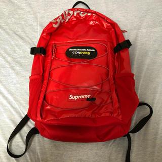 シュプリーム(Supreme)のsupreme backpack リュック バックパッグ(バッグパック/リュック)