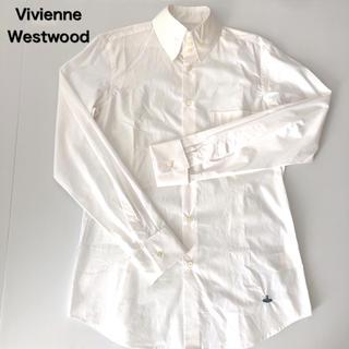 Vivienne Westwood - ヴィヴィアンウエストウッド マン 高襟 袖カフスボタン 長袖シャツ  48