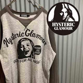 HYSTERIC GLAMOUR - ヒステリックグラマー ガール プリントtシャツ 長袖