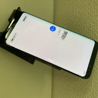 サムスン(SAMSUNG)のSIMフリー Galaxy S8 SCV36 画面割れ(スマートフォン本体)