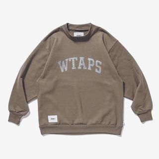 W)taps - M ベージュ WTAPS COLLEGE MOCK NECK COPO 新品
