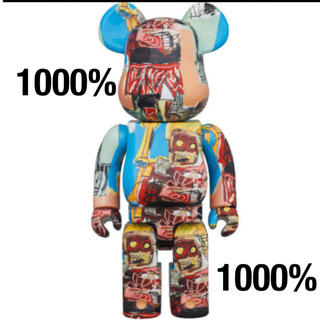 BE@RBRICK JEAN-MICHEL BASQUIAT #6  1000%(フィギュア)