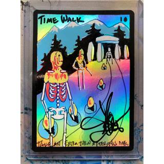 マジックザギャザリング(マジック:ザ・ギャザリング)のtime walk MTG スケッチアート アーティスト サイン入り(その他)