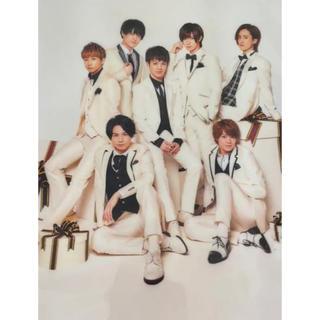 ジャニーズジュニア(ジャニーズJr.)のTravis Japan ぷれぜんと クリアファイル(男性タレント)