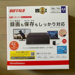 Buffalo - 【新品未使用】BUFFALO HD-NRLD4.0U3-BA