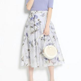 Rirandture - リランドチュール♡シアーフラワープリントスカート