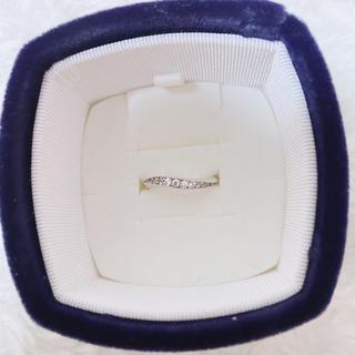 ヨンドシー(4℃)の4℃ リング 指輪(リング(指輪))