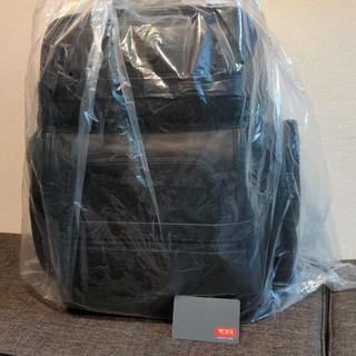 トゥミ(TUMI)の(新品:保証・保存袋付) 名品 TUMI レザー バックパック (リュック)(バッグパック/リュック)