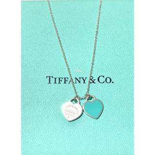 Tiffany & Co. - TIFFANY&Co. リターントゥティファニー ダブルハートペンダント