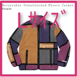 Supreme - Lサイズ Reversible Colorblocked Fleece