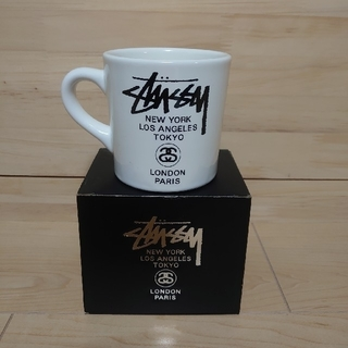 ステューシー(STUSSY)のSTUSSY マグカップ 再々値下げ(グラス/カップ)