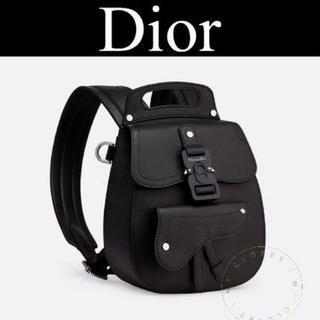ディオールオム(DIOR HOMME)のDior homme バックパック ブラック(バッグパック/リュック)