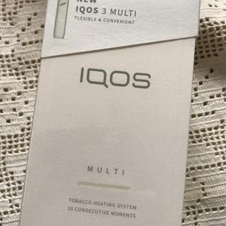 アイコス iQOS3 マルチ フルセット ウォームホワイト 未開封(その他)