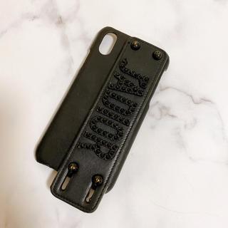 ディオール(Dior)の【Dior】レア ブラックストーン iPhoneX ケース(iPhoneケース)