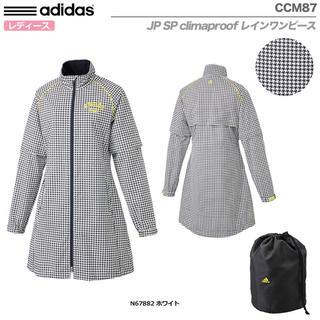 adidas - アディダス ゴルフ♡千鳥格子レインワンピース
