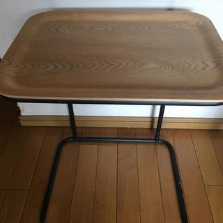 MUJI (無印良品) - 無印良品 スチールトレースタンド サイドテーブル