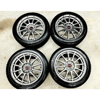 スバル(スバル)のスバル レガシィ純正OP STI ホイール  ブリヂストンVRX2 スタッドレス(タイヤ・ホイールセット)