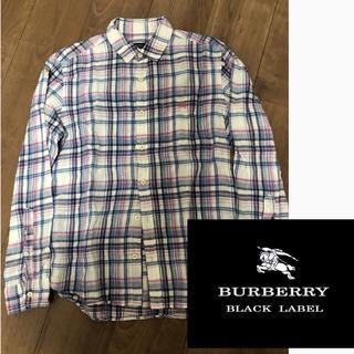 バーバリーブラックレーベル(BURBERRY BLACK LABEL)のバーバリーブラックレーベル シャツ 長袖 ノバチェック 美品 価格交渉ok(シャツ)